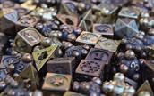 نمادهایی از بازیهای رومیزی مدرن