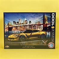 پازل 1000 تکه یوروگرافیکس طرح Chevrolet Corvette Z06 (شورلت کوروت)