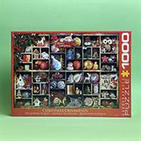پازل 1000 تکه یوروگرافیکس طرح Christmas Ornaments (تزیین کریسمس)