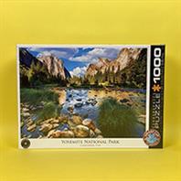 پازل 1000 تکه یوروگرافیکس طرح Yosemite National Park California (پارک طبیعی یوسمایت کالیفرنیا)