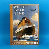 پازل 1000 تکه یوروگرافیکس طرح Titanic White Star Line (کشتی تایتانیک)