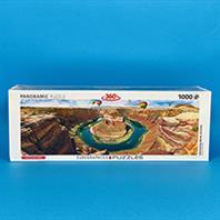 پازل 1000 تکه یوروگرافیکس  طرح Horseshoe Bend, Arizona (هورس شو بند، آریزونا)