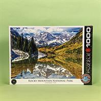 پازل 1000 تکه یوروگرافیکس طرح Rocky Mountains (کوه های راکی)