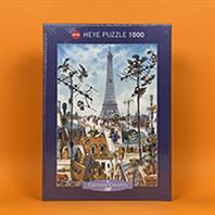 پازل 1000 تکه هِیِ طرح Eiffel Tower (برج ایفل)