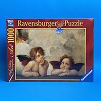 پازل 1000 تکه رونزبرگر طرح Raphael: The Angels (فرشتگان اثری از رافائل)