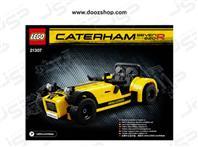 ست لگو سری آیدیا طرح  کترهام 7 - 21307 Lego Ideas Caterham Seven 620R