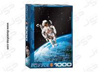 پازل 1000 تکه یوروگرافیکس طرح Astronaut (فضانورد)   3937 Eurographics