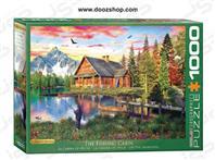 پازل 1000 تکه یوروگرافیکس طرح The Fishing Cabin (کلبه ی ماهیگیری)   5376 Eurographics