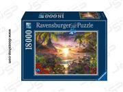 پازل 18000 تکه رونزبرگر طرح Paradise Sunset (غروب بهشت)   Ravensburger 17824