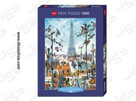 پازل 1000 تکه هِیِ طرح برج ایفل - 29358 Heye Eiffel Tower