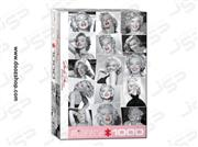 پازل 1000 تکه یوروگرافیکس کد Eurographics Marilyn Monroe Red Lips 0809