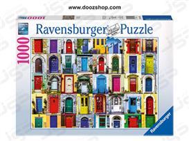 پازل 1000 تکه رونزبرگر طرح در ها  - 19524  Ravensburger  Doors