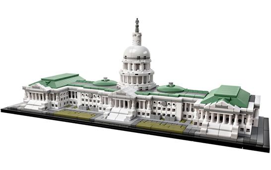 بررسی ست لگو آرشیتکتور، ساختمان کنگرهی ایالات متحده