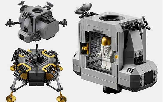 معرفی ست لگو « فضاپیمای آپولو ۱۱ ناسا»