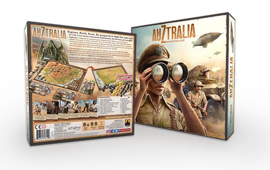 وحشت بر فراز استرالیا – معرفی بردگیم AuZtralia