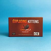 بازی رومیزی - بردگیم گربههای انفجاری - اکسپلودینگ کیتنز   نسخه فارسی