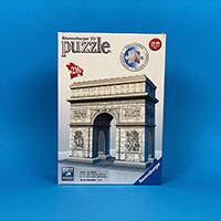 پازل 216 تکه سه بعدی رونزبرگر طرح Arc de Triomphe (طاق پیروزی)