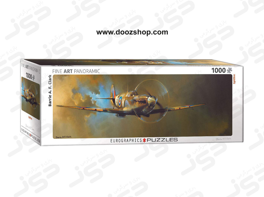 پازل 1000 تکه یوروگرافیکس طرح Spitfire (هواپیمای جنگی) | Eurographics 0952