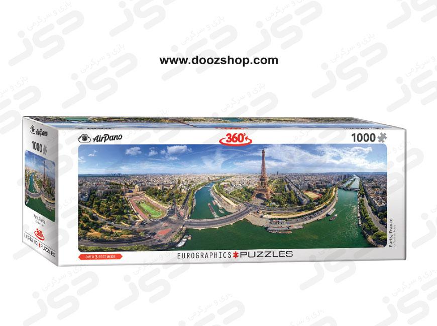 پازل 1000 تکه یوروگرافیکس طرح Paris, France (پاریس، فرانسه)   5373 Eurographics