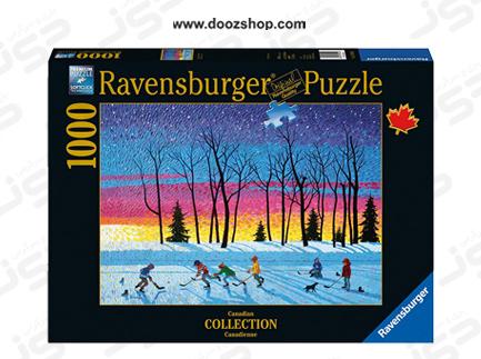 پازل 1000 تکه رونزبرگر طرح غروب خورشید و ستاره ها - 19544 Ravensburger  Sundown and Stars