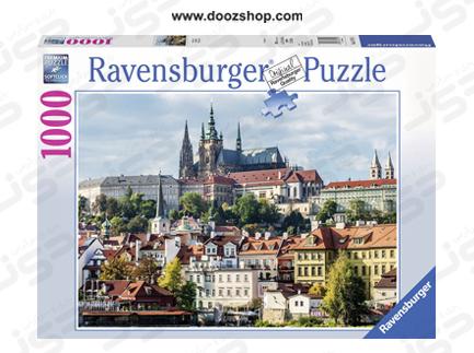 پازل 1000 تکه رونزبرگر طرح قلعه پراگ - 19741  Ravensburger Castle of Prague